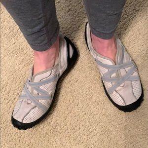 Privo gray slip in sneakers